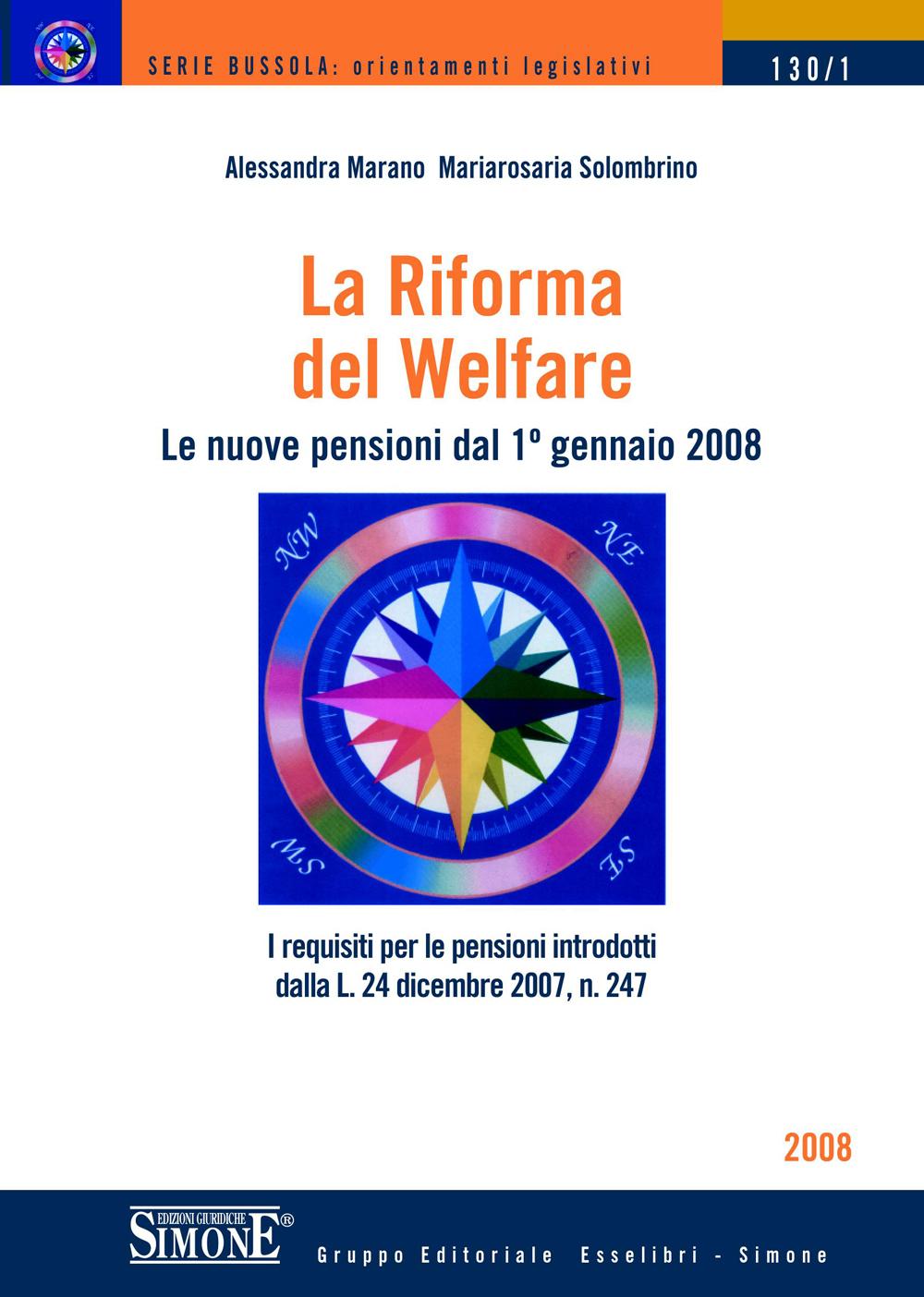 La Riforma del Welfare