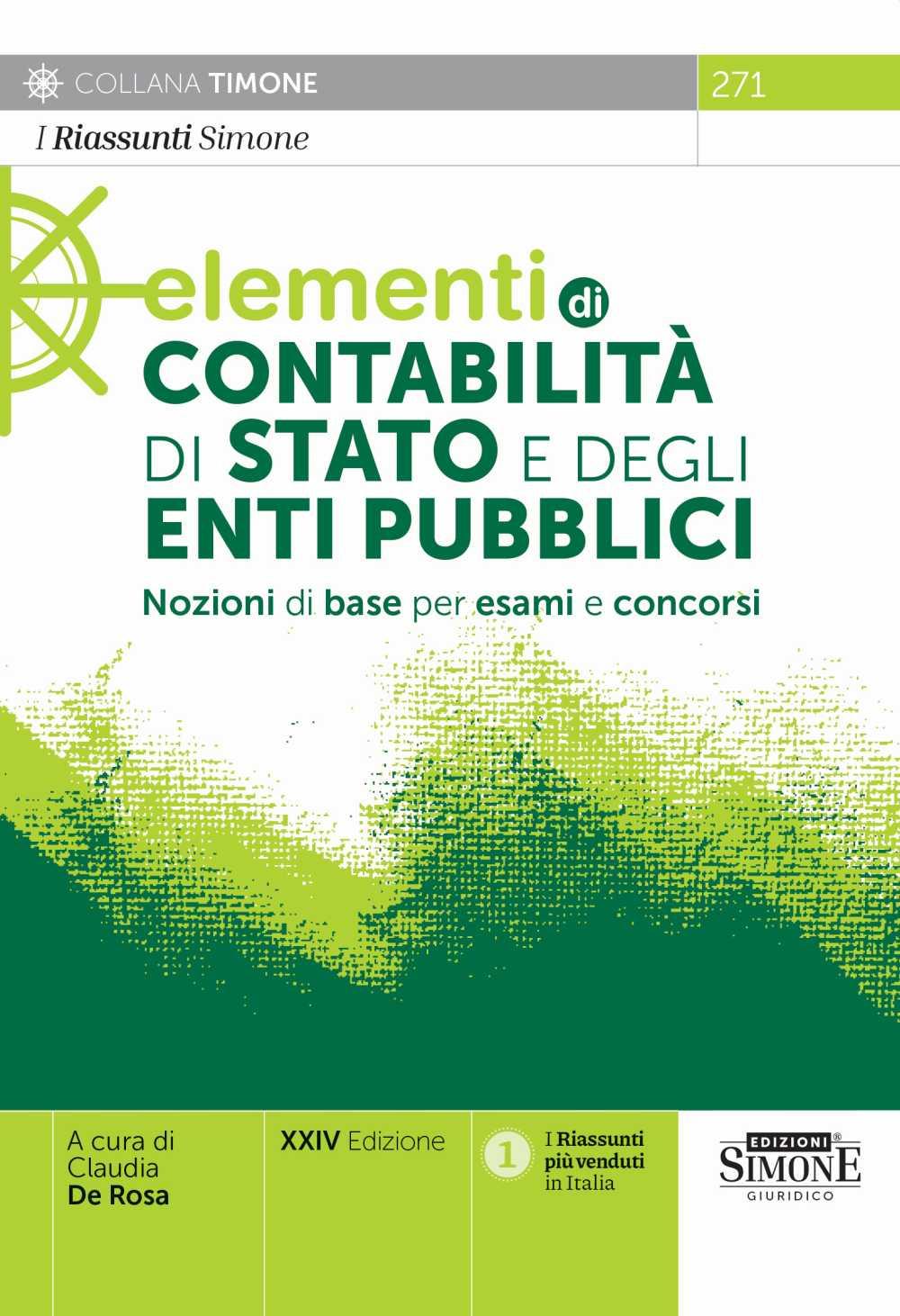 Elementi di Contabilità di Stato e degli Enti Pubblici