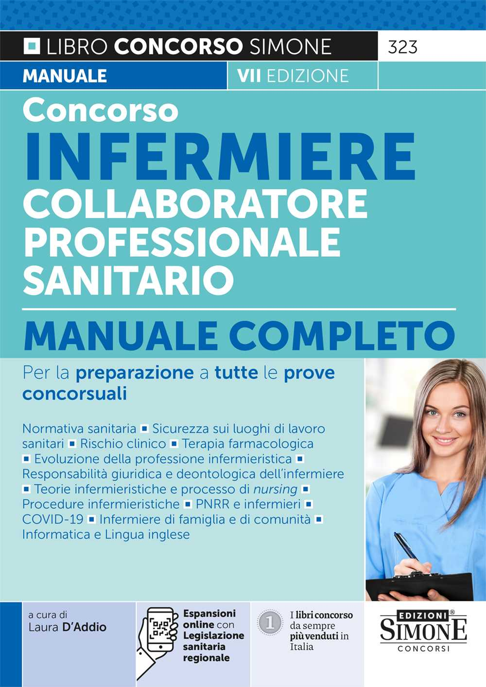 Collaboratore Professionale Sanitario Infermiere - Manuale